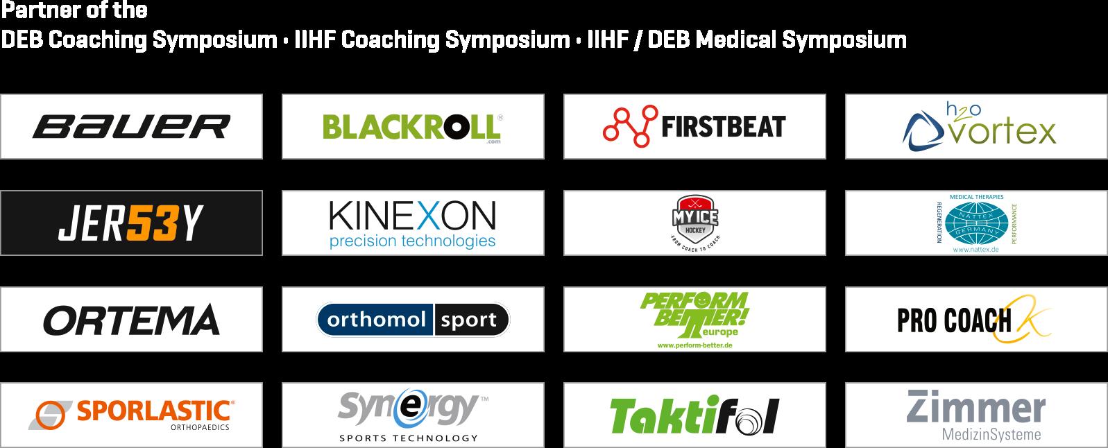 2017 IIHF Eishockey WM Symposium Partner