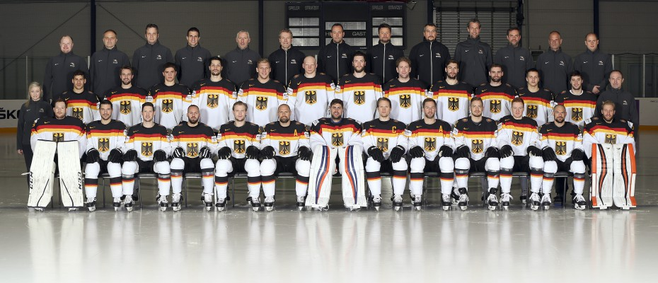 COLOGNE, GERMANY - MAY 9: Team Germany - 2017 IIHF Ice Hockey World Championship. (Photo by Andre Ringuette/HHOF-IIHF Images)