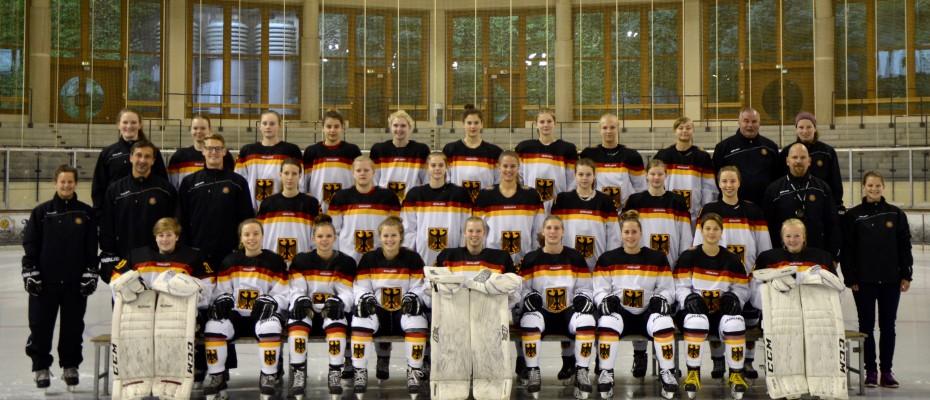 Mannschaftsfoto U18 Frauen