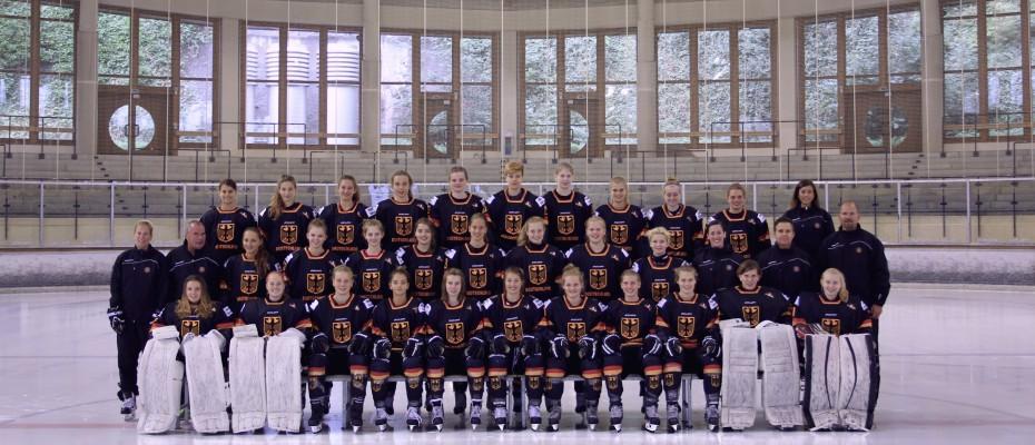 U18 Frauen Mannschaftsbild 15-16