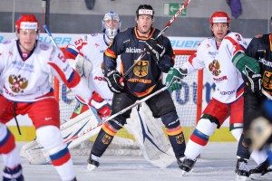 Andrei Vasilevsky (#35 - Russland) - Marcus Kink (#17 - Deutschland) - Andrei Zubarev (#3 - Russland)    Foto: Marco Leipold / City-Press GbR Fotografenkennung: MO-1