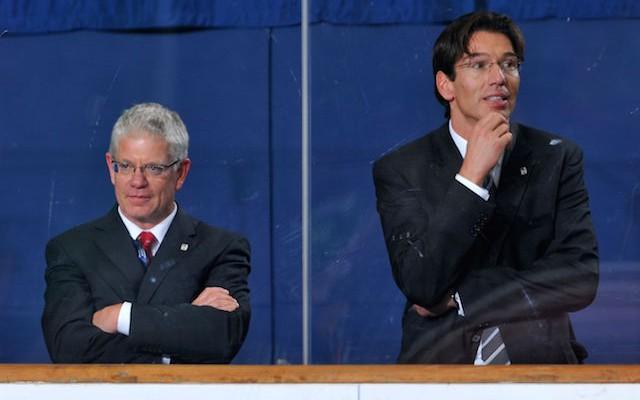 Eishockey - ice hockey - Deutschland Cup 2009 - 4. Quartal USA gegen Slowakei am 08.11.2009 in der  Olympiahalle in M¸nchen Muenchen,