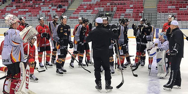 Znalezione obrazy dla zapytania nationalmannschaft deutschland Sotschi eishockey